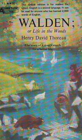WALDEN; or Life in the Woods