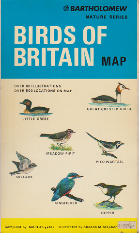 BIRDS OF BRITAIN  MAP