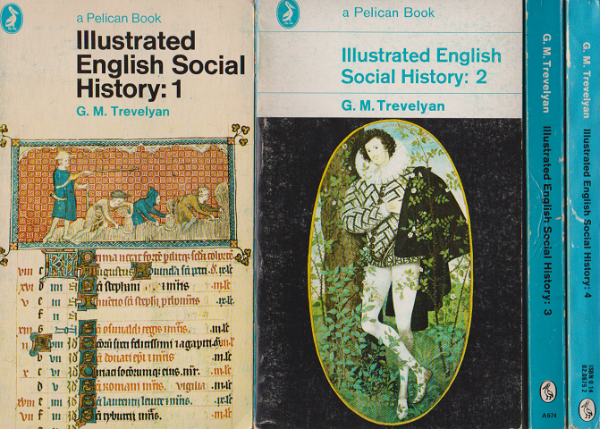 Illustrated English Social History: 1~4 4冊セット