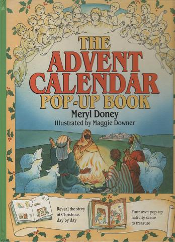THE ADVENT CALENDAR POP-UP BOOK
