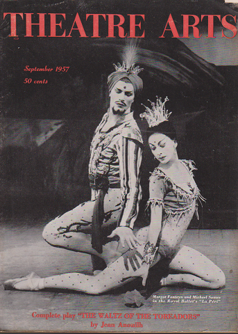 THEATRE ARTS Sep.1957 Lineage of the Royal Ballet