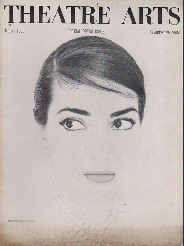 THEATRE ARTS Mar.1959 SPECIAL OPERA ISSUE