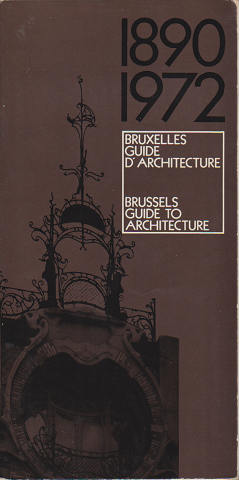 Brussels Guide to Architecture1980-1972