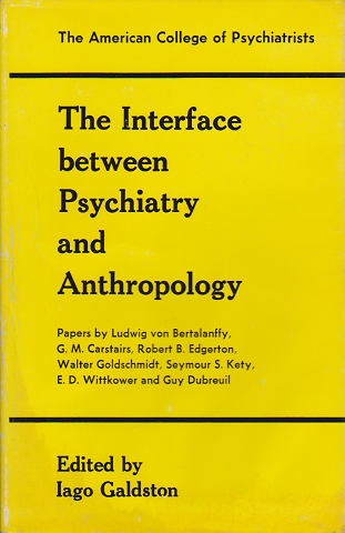 The Interface between Psychiatry and Anthropology