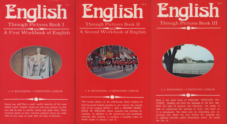 English through pictures book<Ⅰ・Ⅱ・Ⅲ>3冊セット
