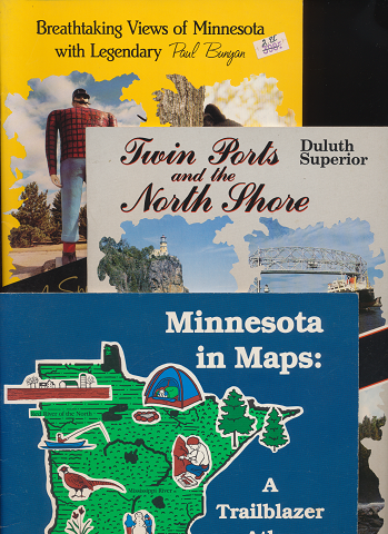 Breathtaking Views of Minnesota with Legendary/Twin Ports and the North Shore/Minnesota in Maps:(3冊セット)