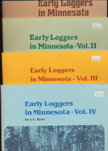 Early Loggers in Minnesota (1~4)4冊セット
