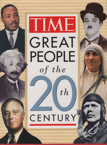 洋書 TIME GREAT PEOPLE of the 20 Century