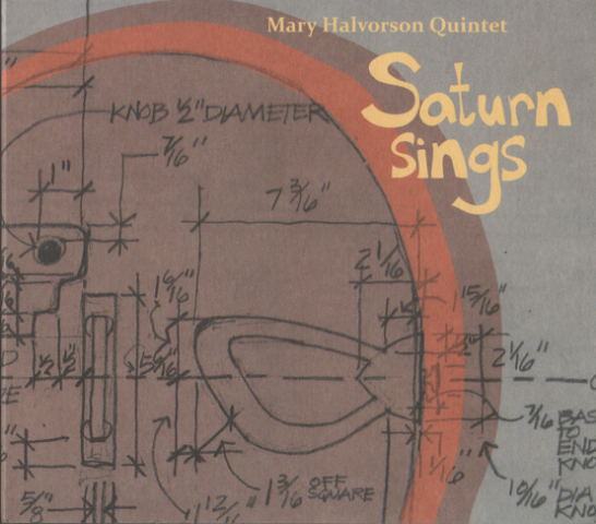CD Mary Halvorson Quintet Saturn Sings