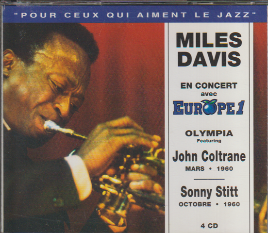 CD: MILES DAVIS PARIS JAZZ CONCERT DISC1~4
