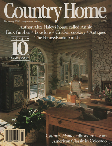 Country Home (february 1989)