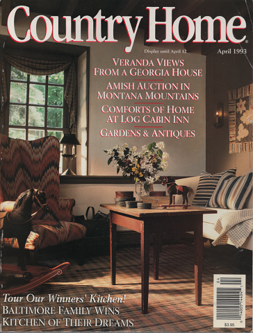 Country Home (april 1993)