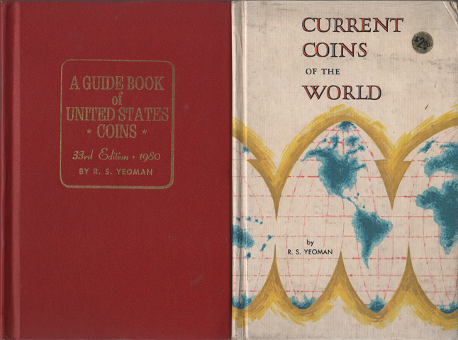 A GUIDE BOOK of UNITED STATES  COINS/CURRENT COINS OF THE WORLD (2冊セット)