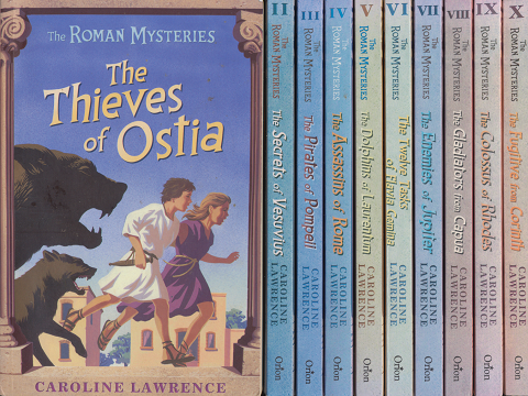『The Roman Mysteries The Thieves of Ostia』 Ⅰ~Ⅹ 10冊セット